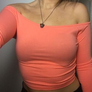 Cropped Hollister top